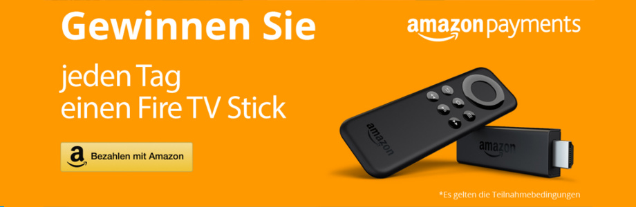 Amazon Payments - Fire TV Stick Aktion