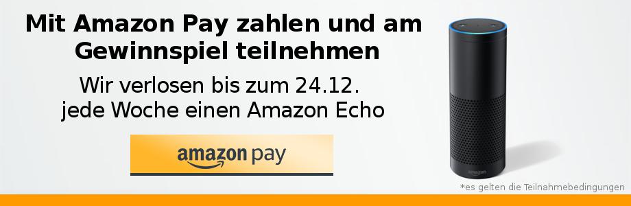 Gewinnen Sie einen Amazon Echo