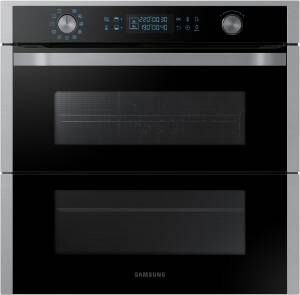 Samsung NV 75 N 7647 RS Backofen Dual Cook Flex WiFi-Steuerung