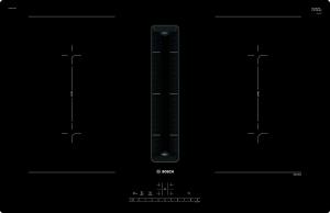 Bosch PVQ 811 U 60EEK: B Kochfeld mit Dunstabzug Induktion 80 cm