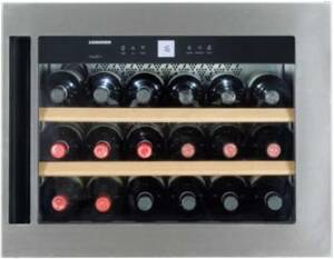 Liebherr WKEes 553-21 GrandCru EEK: A Einbau-Weinschrank 45 cm .inklusive 2-Mann-Service .bis in die Wohnung
