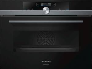 Siemens CB 875 G0B2 schwarz Einbau-Kompaktbackofen 60x45cm