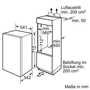 Bosch GID 14 A 50 A + IntegrierbarFlachscharnier
