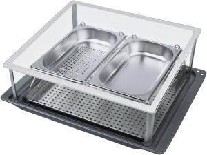 Bosch HEZ 24 D 300 System-Dampfgarer Dampfkochen für die gesunde und leichte Küche: exclusiv