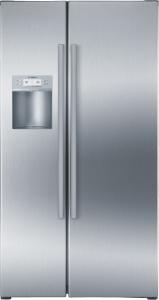 Bosch KAD 62 P 91A + Türen Edelstahl mit Anti-Fingerprint NoFrost