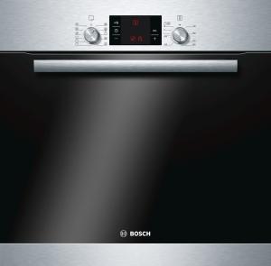 Bosch HBD 78 PC 50 EinbaubackofensetPyrolyse Induktion 80 cm Breite HBG73U150, PKC845F17