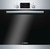 Bosch HBD 78 PS 50Einbaubackofense tPyrolyse Elektronik-Uhr 80 cm BreiteKochstelle