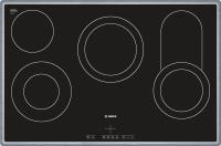 Bosch NKC 845 F 17Edelstahl-Rahmen 80 cmElektrokochmulde