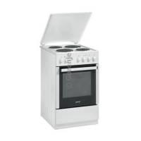 Gorenje E 57120 AW Stand-Elektroherd 50 cm weiß