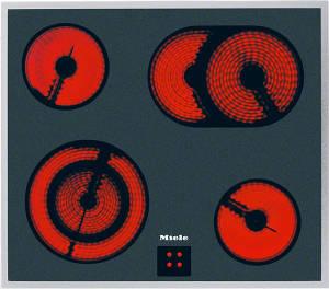 Miele KM 6003 LightPrint Edelstahl Glaskeramik Herdgebunden