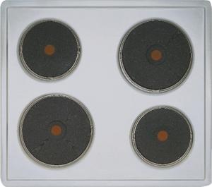 Siemens EA 1255014 Schnell-Kochplatt en Chromnickelstahl