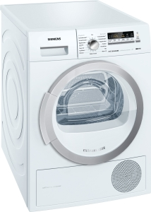 Siemens WT 46 W 281A++8 kg softDry-Trommel Wolle-SchuhkorbExtraklasse