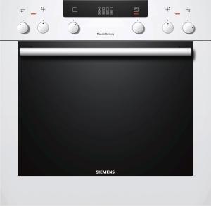 Siemens HE 30 GB 230A-20%Weiß Vollglas-InnentürExtraKlasse