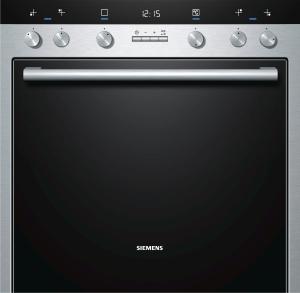 Siemens HE 33 GB 550EEK: A -20% EdelstahlecoClean Rückwand softClose