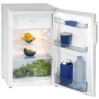 Exquisit KS 125-4 U A+ weiß Unterbaukühlschrank mit Gefrierfach