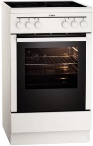 AEG Competence 40095 VD-WN Standherd weiß 50cm breit Glaskeramik
