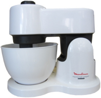 Moulinex QA 2131 Compact White planetarisches Rührsystem mit Schnitzelwerk