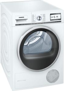 Siemens WT 48 Y7 W3 Wärmepumpentrockne r8kgEEK: A+++62 dB