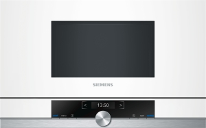 Siemens BF 634 RGW1Einbaumikrowelle TFT-Display900 WLEDweiß
