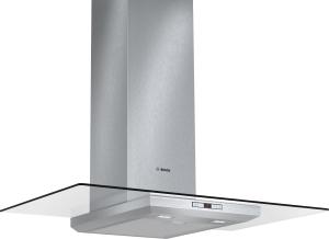 Bosch DWA 098 E 50 Wandesse, 90 cm Edelstahl mit Glasschirm