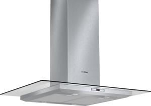 Bosch DIA 098 E 50 Inselesse, 90 cm Edelstahl mit Glasschirm