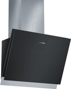 Bosch DWK 068 G 61 Wandesse, 60 cm , schwarz mit Glasschirm