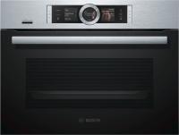 Bosch CSG 656 RS 6 Kompaktdampfbacko fen, Edelstahl
