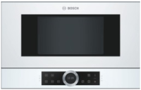 Bosch BFR 634 GW 1 Einbaumikrowelle, weiß