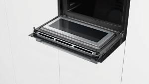 Bosch CMG 633 BB 1Kompaktbackofen mit Mikrowelle, schwarz
