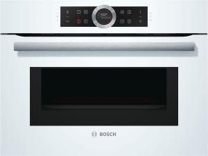 Bosch CMG 633 BW 1 Kompaktbackofen mit Mikrowelle, weiß