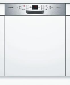 Bosch SMI 63 N 25 EU A++ Geschirrspüler 60 cm, Integrierbar - Edelstahl