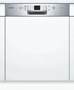 Bosch SMI 68 N 65 EU A+++ Geschirrspüler 60 cm, Integrierbar - Edelstahl