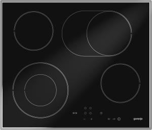 Gorenje ECT 620 X60cm, Touch Control, 2-Kreis, Bräter, Edelstahlrahmen
