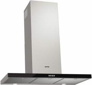 Gorenje WHT 921 E3XBG C, 600 mü/h, Drucktasten, 3 LS, Glaseinsatz, Anti-Fingerprint- Beschichtung 90cm