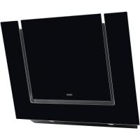 AEG X 68163 BV 10 Wandhaube, 80 cm, schwarze Glas-Design-Haube