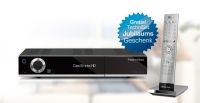 TechniSat Digit ISIO S Edition schwarz Twin-HD-Receiver inklusive 12 Monate HD+ Karte + Fernbedienung TechniControl Plus