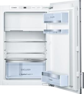 Bosch KFL 22 ED 30 A++ Einbau Kühlschrank Flachscharnier mit Dekortüre, mit Softeinzug Exclusiv