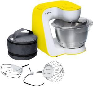 Bosch MUM 54 Y 00 Küchenmaschine StartLineweiß/gelb