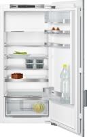 Siemens KF 42 LAF 30 A++ Einbau-Kühlschrank mit weißer Türfront und Alu Dekorrahmen mit Griff