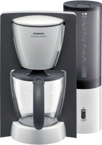Siemens TC 60301 Filterkaffeemaschine executive edition weiß/dunkelbraun