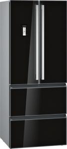 Siemens KM 40 FSB 20A+ Frenchdoor no Frost Glastüren schwarz