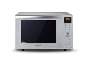 Panasonic NN-DF 385 MEPG silber Bautiefe 396 mm 1000 W