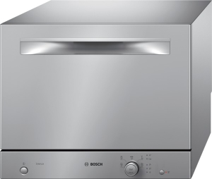 Bosch SKS 51 E 28 EU ActiveWater Smart Kompakt-Geschirrspüler Auftischgerät - Silver Inox