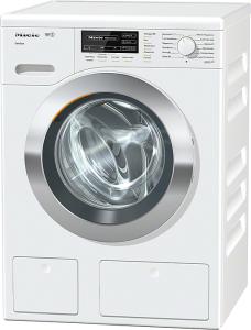 Miele WKG 120 WPSA+++ 8 kg TwinDos&CapDosing 1600 Touren Lotusweiß - Jetzt 1 Jahr kostenlos waschen! -