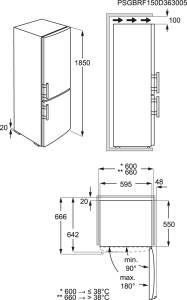 AEG S 53431 CNXF A+++ NoFrost Edelstahl