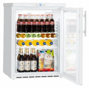 Liebherr FKUv 1613-22 001Gewerbe Flaschen-Kühlschrank Glastür LED weiß