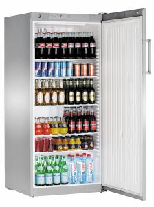 Liebherr FKvsl 5410-21 Premium Gewerbe Flaschen-Kühlschrank signalgrau Gewerbe