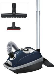 Bosch BGL 8332 Perfectionist EEK: A Bodenstaubsauger mit Staubbeutel imperialblau
