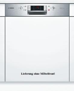 Bosch SMI 68 N 75 EU A++ SuperSilence 60 cm Integrierbar - Edelstahl