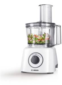 Bosch MCM 3100 W Kompakt-Küchenmasch ine weiß / grau